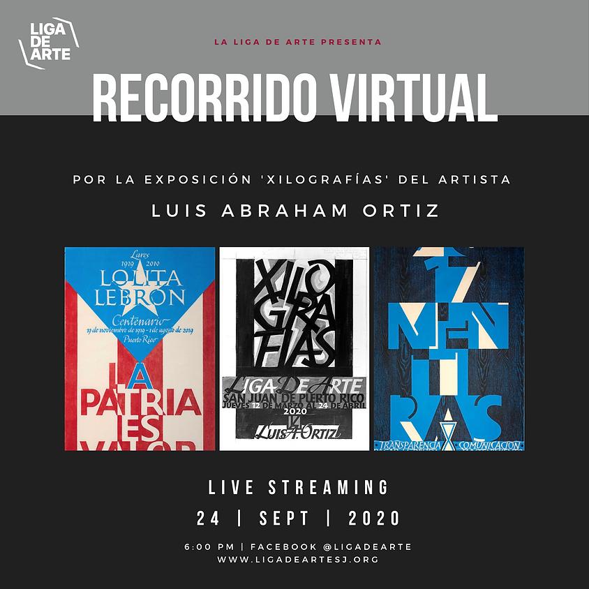 """Recorrido virtual por la exposición """"Xilografías"""" de Luis Abraham Ortiz"""