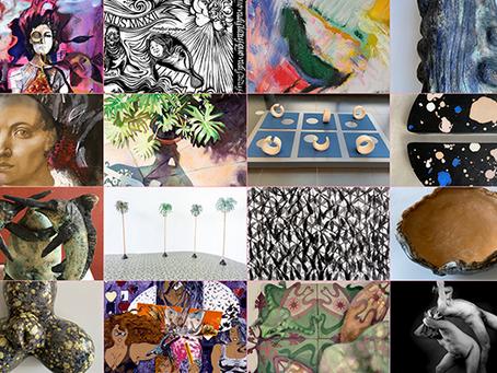 Más de 100 artistas en la primera subasta online a beneficio de la Liga de Arte