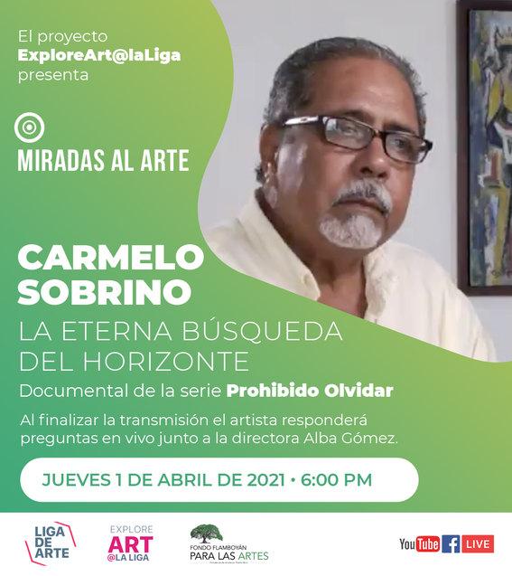 Miradas al arte - Carmelo Sobrino