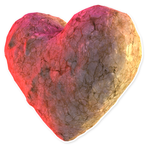 Каменное сердце / Heart stone