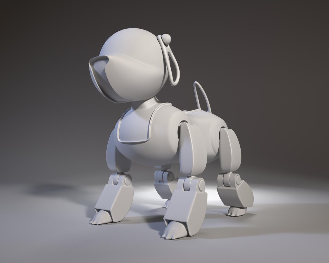 Robot GT в сером