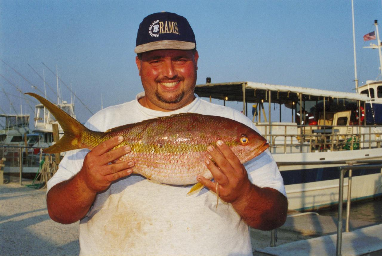 A RECORD HOLDING GOLDEN SNAPPER!