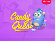 candy quest button