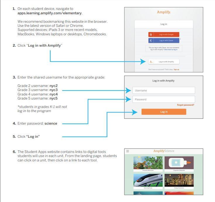 amplify log in screenshot
