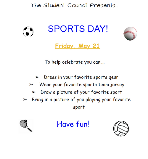 sports day flyer pic