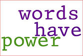 words have power clipart