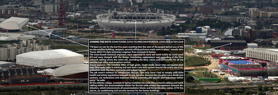 Lovelock Taylour Electrical Times Excerpt London Olympics 2012