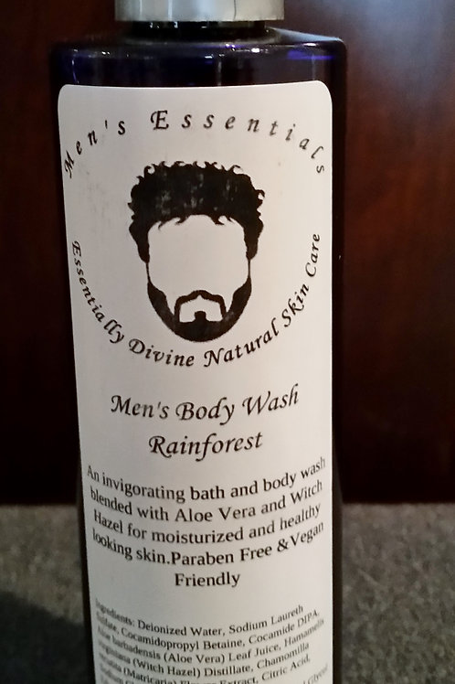 Men's Body Wash with Fir Needle essential oil