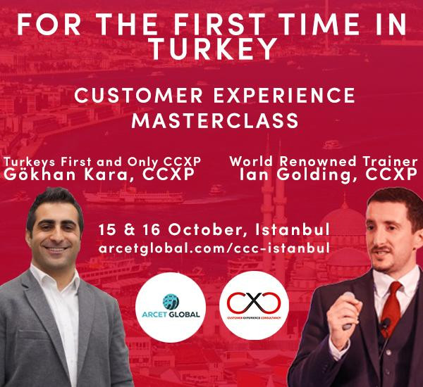 Müşteri Deneyimi Gurusu Ian Golding Istanbul'a Geliyor!