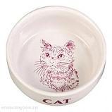 керамическая кошачья миска