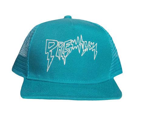 Turquoise Premium Trucker Hat