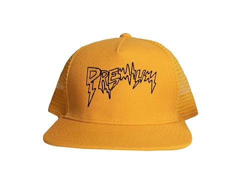 Gold Premium Trucker Hat