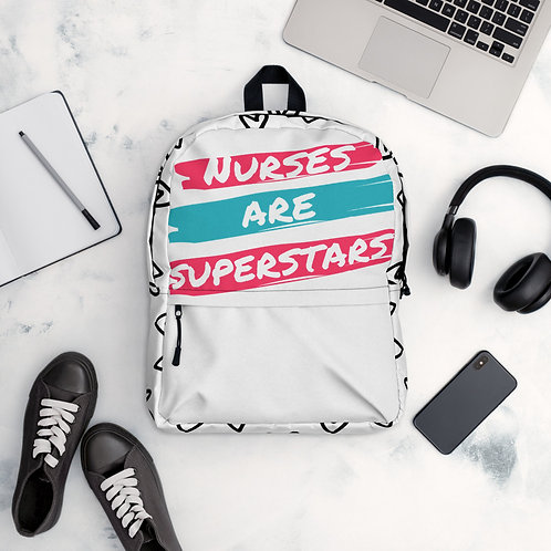 Backpack Nurses are Superstars
