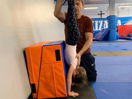 Jak być dobrym w sportach gimnastycznych