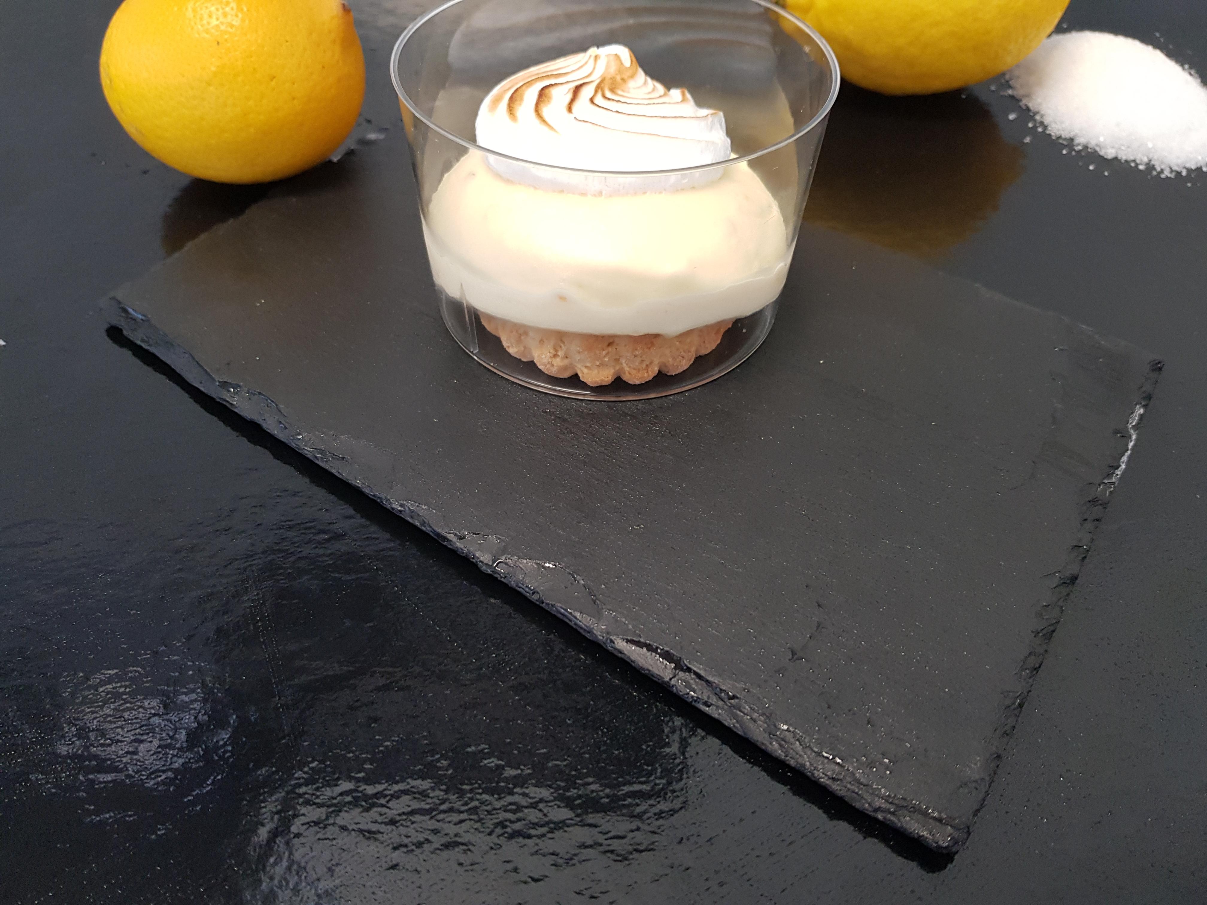 Verrine tarte citron cédrat