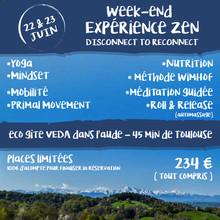 Week-end Expérience Zen! 22/23 juin