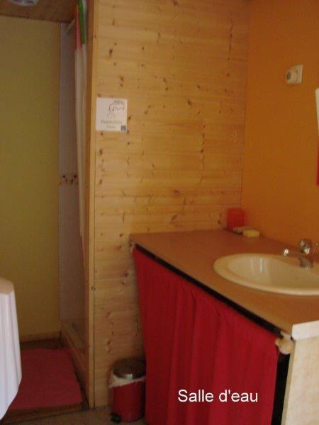 Une des salles d'eau