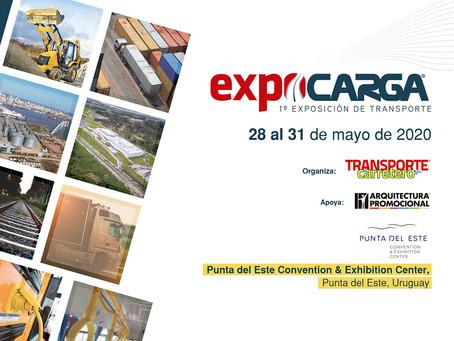 EXPOCARGA 2020 - 1° Salón internacional de transporte de carga y pasajeros y logística de Uruguay