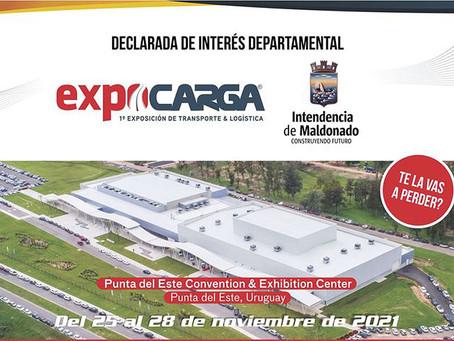 EXPOCARGA 2021 declarada de Interés Departamental por parte de la Intendencia Municipal de Maldonado