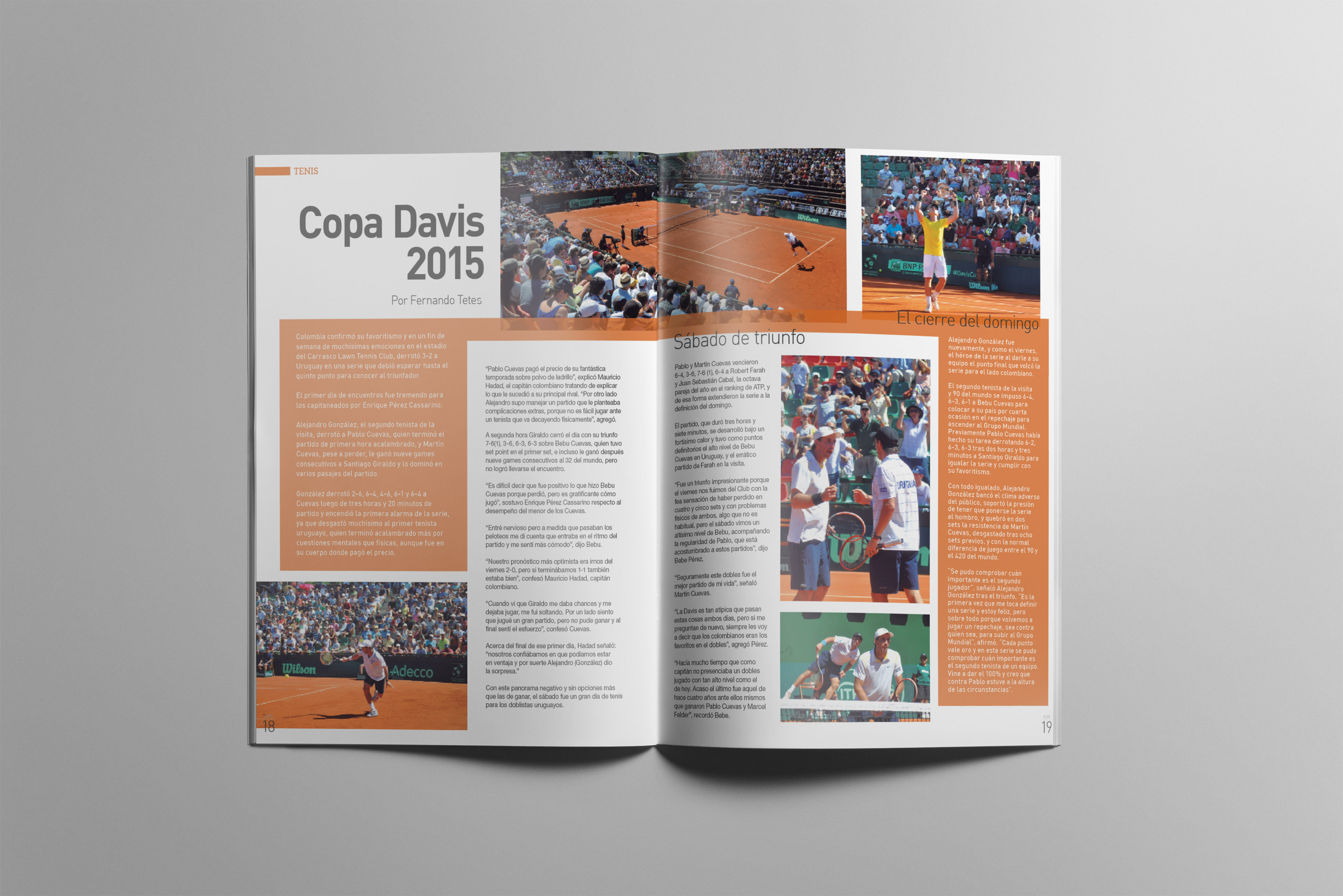 Revista Carrasco Lawn Tennis