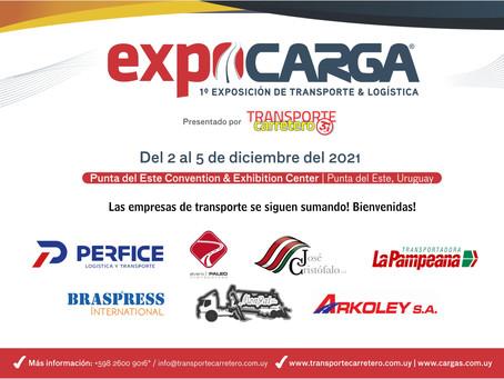 Las empresas de transporte de Argentina, Brasil y Uruguay marcan presencia en EXPOCARGA 2021
