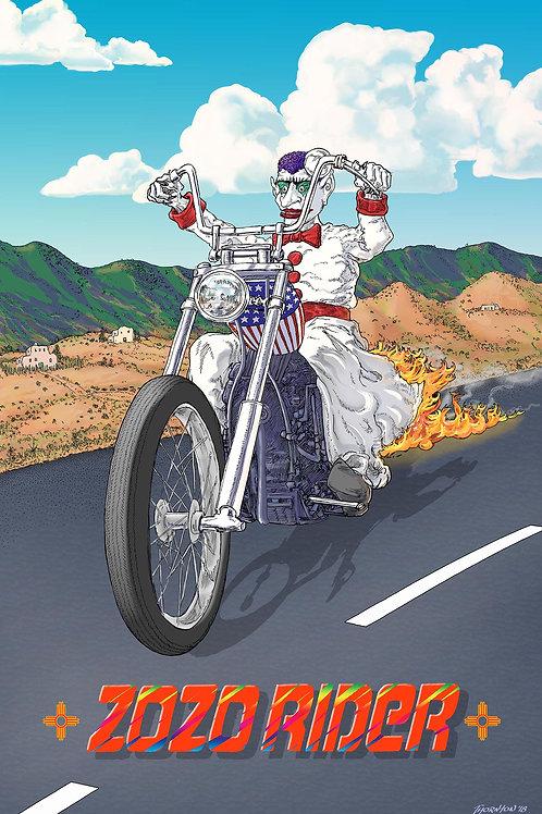 Zozo Rider Poster