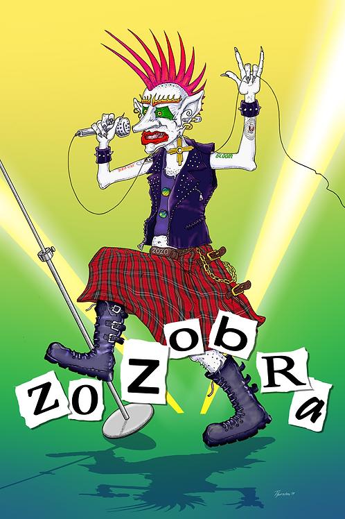 Punk Zozo Poster