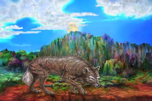 Portales Moonwolf - Poster