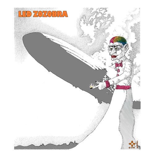 Led Zozobra Poster