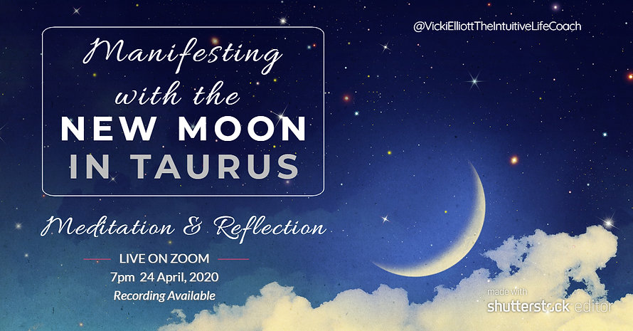 Manifesting with the New Moon In Taurus