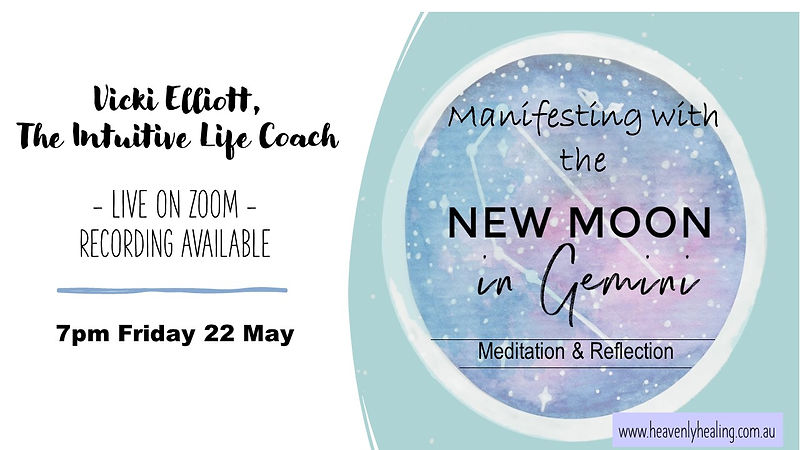Manifesting with the New Moon in Gemini