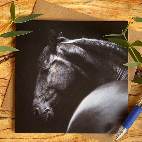 Equestrian Greeting Card