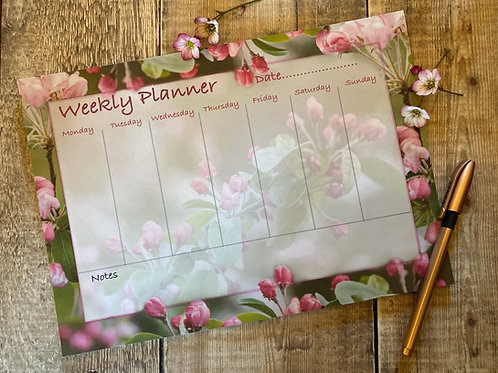 Weekly Planner - 50 pages that you can tear off