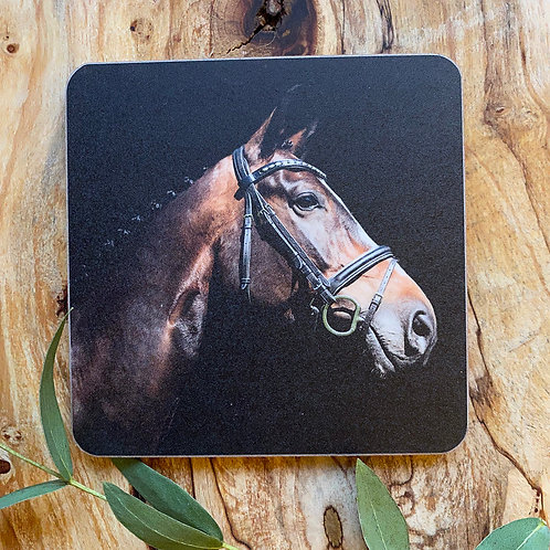 Horse Drinks Coaster