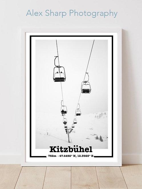 Kitzbuhel ski Print