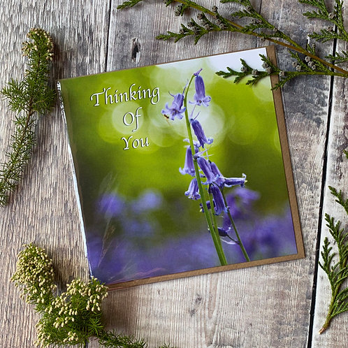 Thinking of You - Bluebell Greeting Card