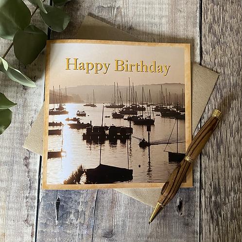 Happy Birthday (Salcombe)Birthday Card