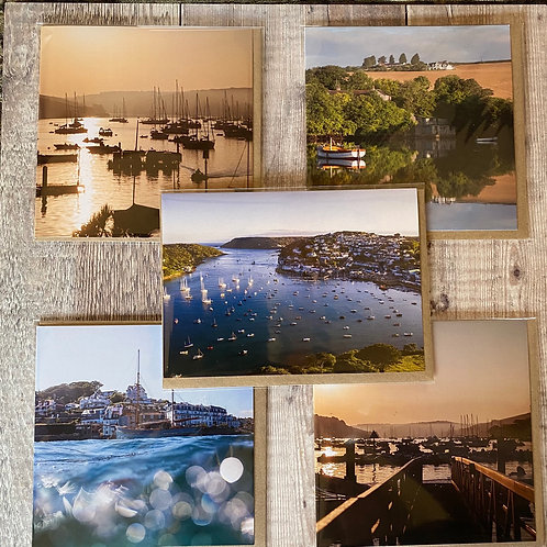 Salcombe greeting cards - pack of 5 Salcombe greeting cards