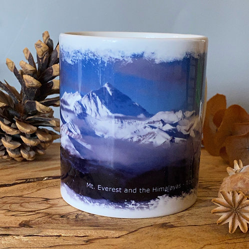 Mt Everest and the Himalayas Mug