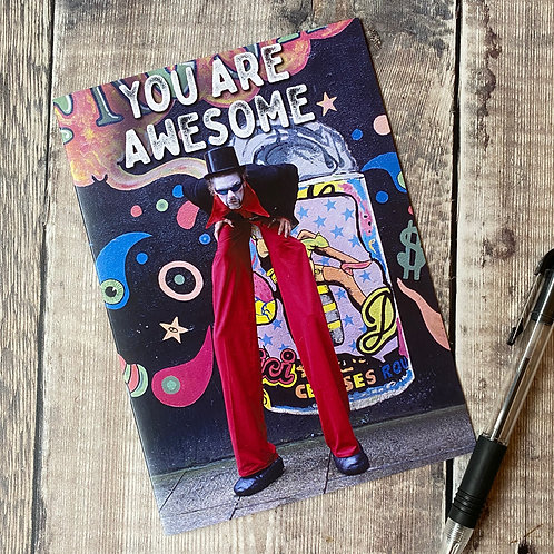 You Are Awesome - greeting card