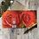 Thumbnail: Orange Rose greeting card