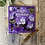 Thumbnail: Pansy Flower Happy Birthday card