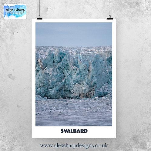 Svalbard Fine Art Print