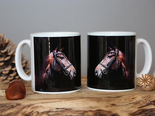 Horse Mug - fine art horse mug