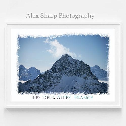 Les Deux Alpes Mountains Fine Art Print