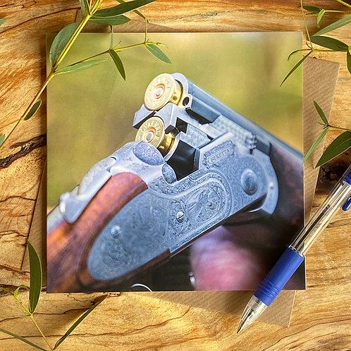 Shotgun Greeting Card