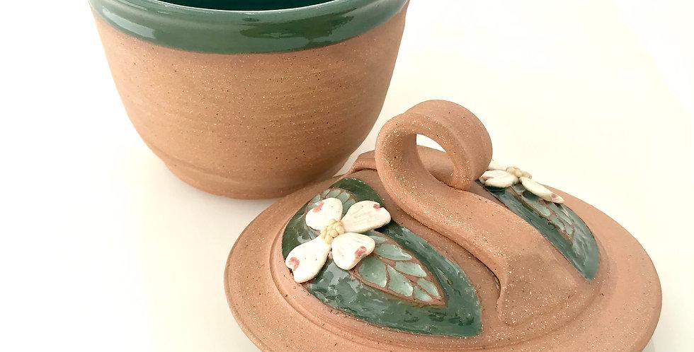 Michael Ware Dogwood Lidded Jar (small) 4621