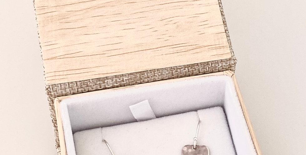Jill Robertson Silver Tree Earrings Rectangle 5996