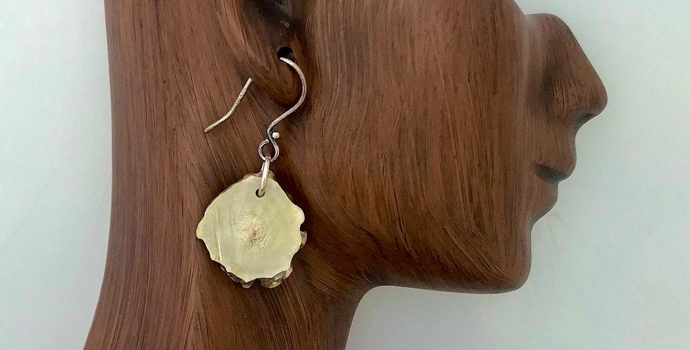 Don Duff Antler Ear Rings 5517