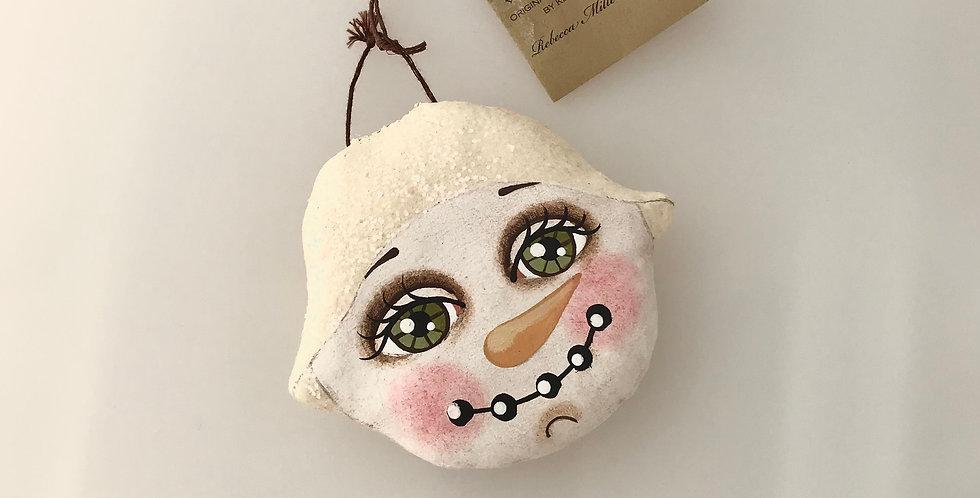 Rebecca Miller-Campbell Snowman Ornament 3926-9